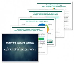 Marketing Logistics Services 2016 Survey