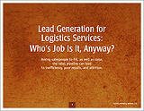 Lead Generation for Logistics Services