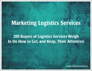 Marketing Logistics Services eBook